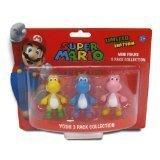 Goldie Super Mario Yoshi 2 Mini Figure Collection 3-Pack
