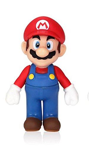 Official Nintendo Super Mario 5 inch 13cm Large Figure Collection - Super Mario