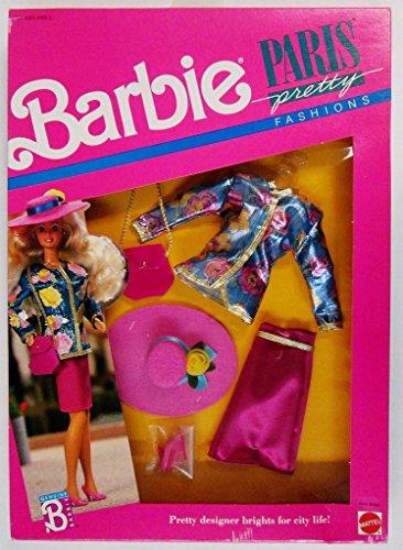 Barbie Doll Paris Pretty Fashions Clothing Set 6558 From 1989