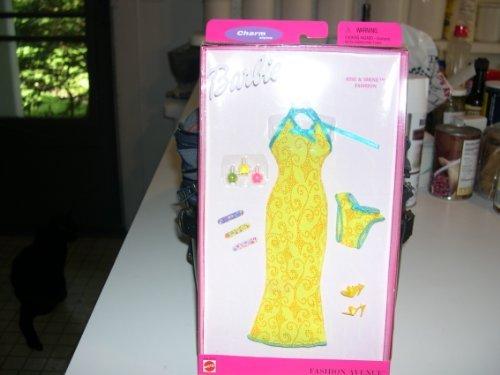 Fashion Avenue Barbie Doll Charm Styles Mint Classic Fashion Clothing Set