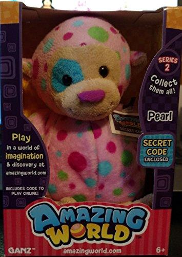 Amazing World Series 2 Pearl the Monkey Interactive Plush Toy - 55