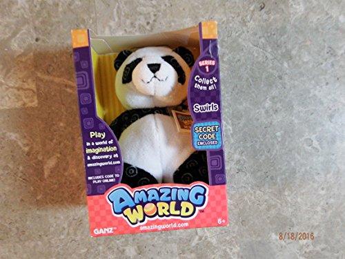 Amazing World Swirls the Bear Interactive Plush Toy - 55