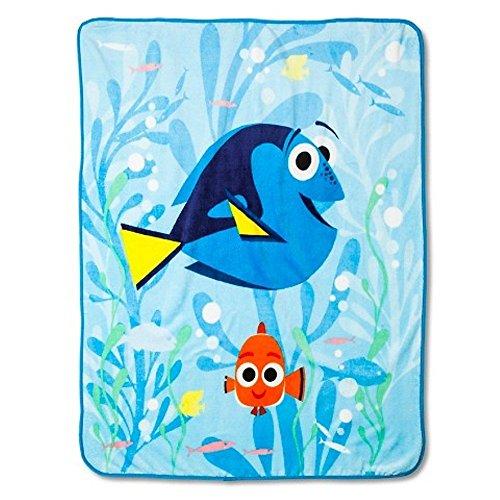 Disney Finding Dory Plush Throw Blanket ~ 50  x 60