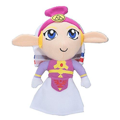 Lovely Princess Zelda Plush Legend Of Zelda Ocarina Of Time Rare Handmade 7 New by Gem