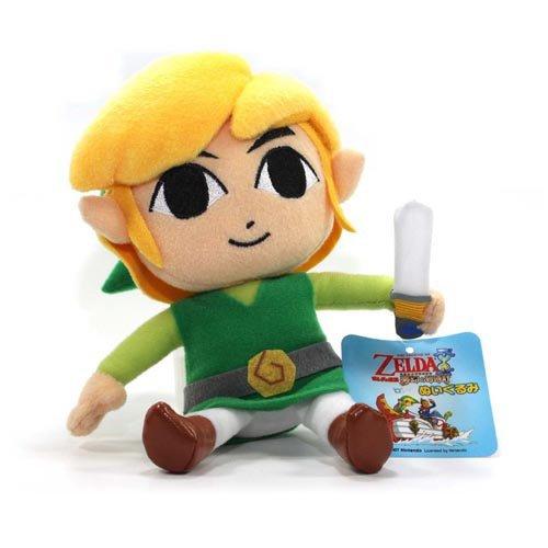 Toy - Zelda - Plush - Link - 6 nintendo-l - 895221009952