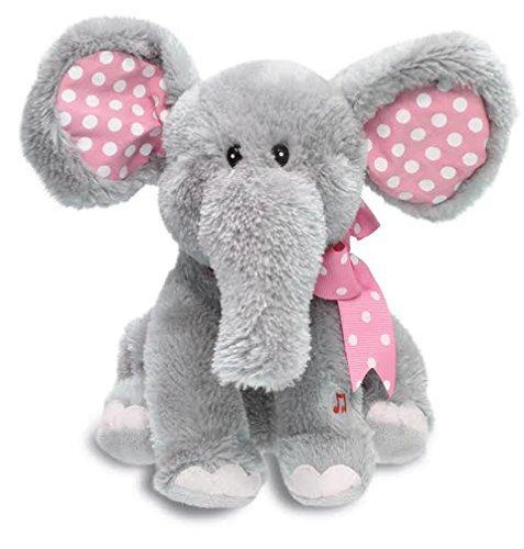 Cuddle Barn Animated Singing Plush Toy - Ellie the Elephant CB4773 by Cuddle Barn