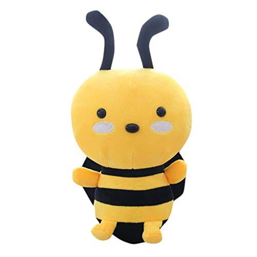 ChunYiYi Lovely Cute Bee Plush Stuffed Animal Toys Pillow Sofa Home for Baby Girls Boys B60CM