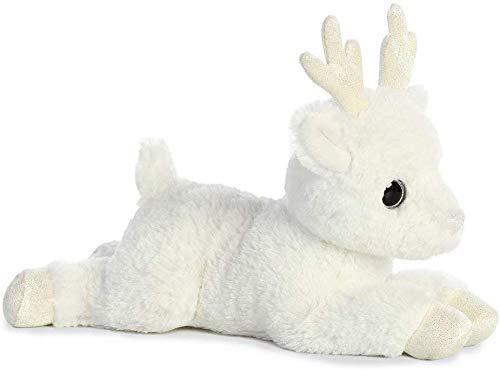 Aurora 12-inch Flopsie Glitter Deer Plush Animal Toy