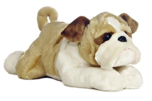 Aurora World Flopsie 12 Stuffed Bulldog Willis