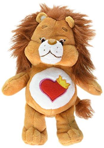 Just Play Care Bear Bean Brave Heart Lion Plush