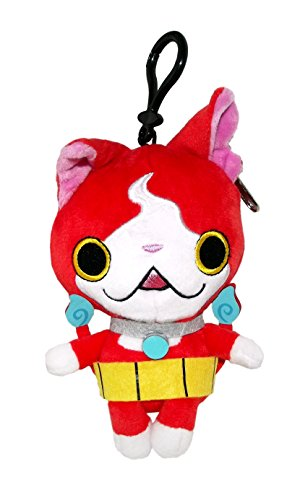 Yo-Kai Watch Jibanyan Plush Coin Purse with Clip