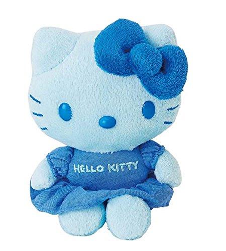 Hello Kitty Mascot Plush Color Blue