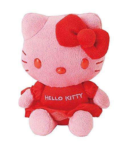 Hello Kitty Mascot Plush Color Red
