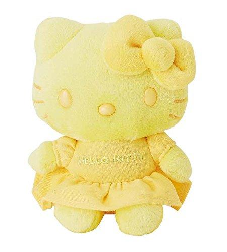 Hello Kitty Mascot Plush Color Yellow