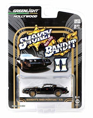Greenlight 164 Hollywood Series Smokey and The Bandit II Bandits 1980 Pontiac Trans Am Diecast Car
