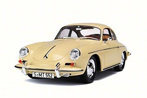 1956 Porsche 356BC Cream - Road Signature 94220 - 143 Scale Diecast Model Toy Car