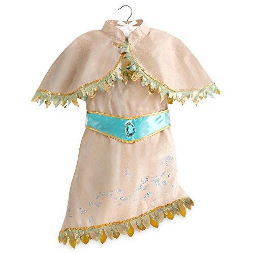 Disney Store Deluxe Pocahontas Costume Dress Halloween Size S Small 5 - 6 5T