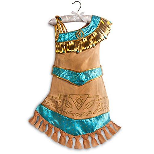 Disney Store Pocahontas Costume Dress Halloween Size XS Extra Small 4 4T