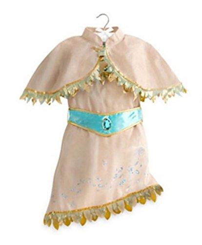 Disney Store Pocahontas Costume Dress for Girls ~ Size 910