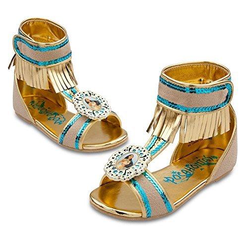 Disney Store Pocahontas Costume ShoesSandals Size 78 by Disney Interactive Studios
