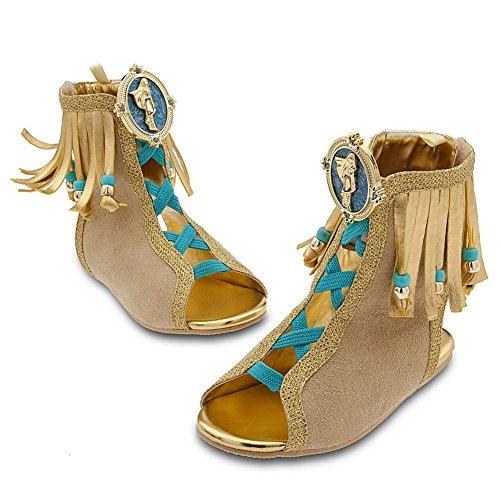 Disney Store Princess Pocahontas Halloween Costume ShoesSandals Size 1112