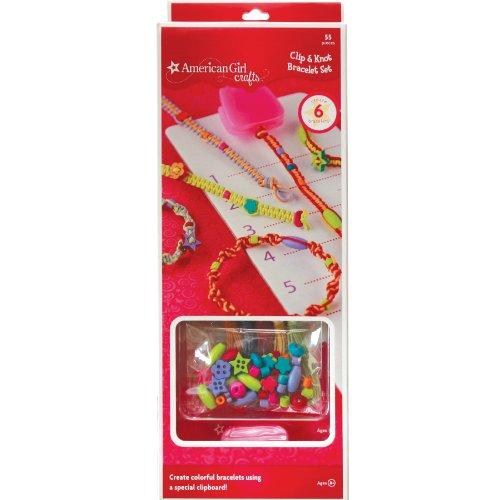American Girl Crafts Clip Knot Bracelet Set