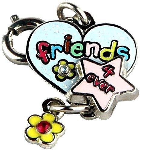 Charm It Girls Bracelet Charm NEW Friends Forever by charm it