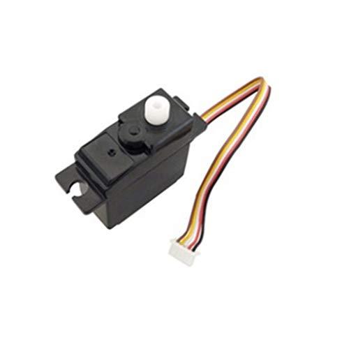 Sdoveb 17g Steering Gear Drone Servo for WLTOYS A949 A959 A969 A979 K929-B 118 RC Car Motor Black