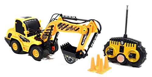 Front Shovel Excavator Digger 120 Electric RTR RC Tractor Construction Vehicle