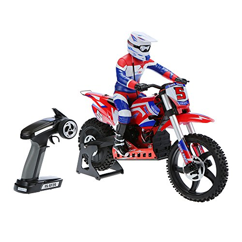 Goolsky SKYRC SR5 14 Scale Dirt Bike Super Stabilizing Electric RC Motorcycle Brushless RTR RC Toys