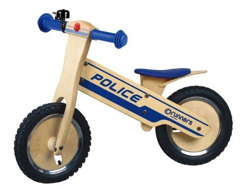 Runners-Bike Police Wooden Balance Bike