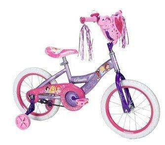 16 Huffy Disney Princess Girls Bike with Heart Basket