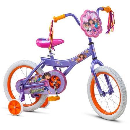 16 Nickelodeon Dora and Friends Girls Bike