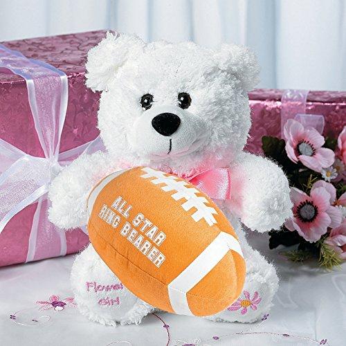 Fun Express Ring Bearer Football and Flower Girl Bear Set