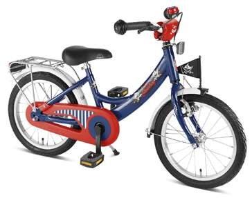 Puky childrens bikes 12 inch 18 inch Kids bike Capitan Sharky ZL 18 alu