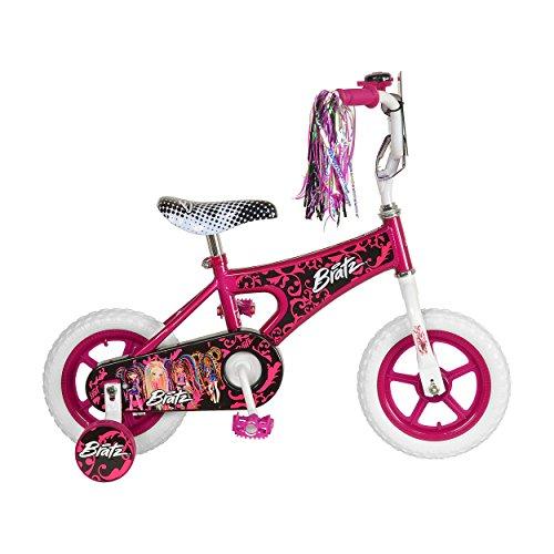 Bratz Kids Bike 12 inch Wheels 8 inch Frame Girls Bike Pink