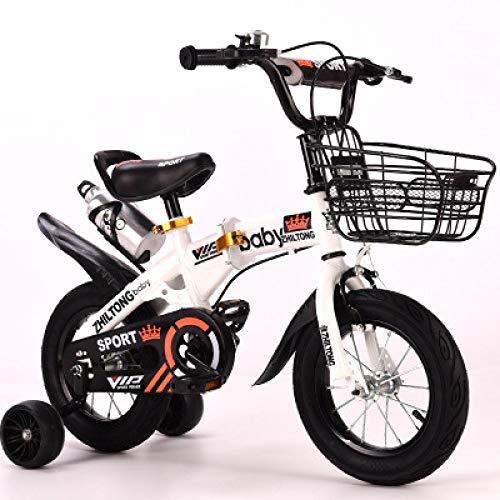 Ssltdm Kids Bikes 12 inch 2-5-6-9 Years Old boy Female Treasure Bicycle Folding Children Bicycle
