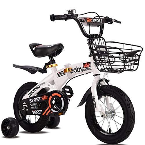 Ssltdm Kids Bikes 12 inch Children Bicycle Baby Stroller Pedal Mountain Bike