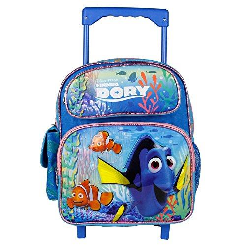 Disney Finding Dory New Girls 12 Rolling Backpack Girls Book Bag