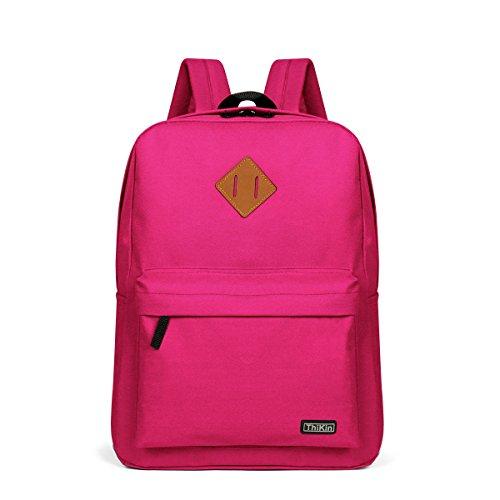 Thikin Lightweight Backpack Boys Girls Junior High School Bags Student Bookbags