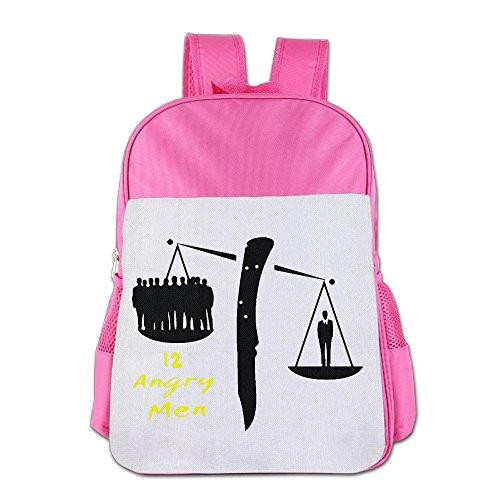 IOH 12 Angry Men Unisex Fashion Bookbag Pink