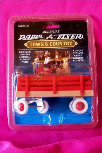 Miniature Radio Flyer Town Country Wagon