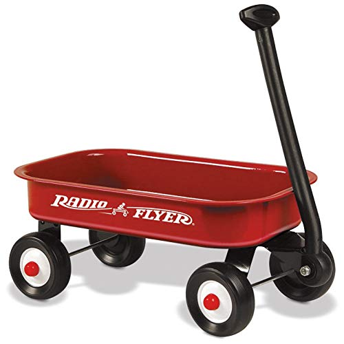 Radio Flyer Little Red Wagon Discontinued by manufacturer Renewed
