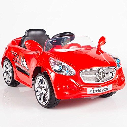 Ride on Car Kids RC Car Remote Control Electric Power Wheels W Radio MP3 Red