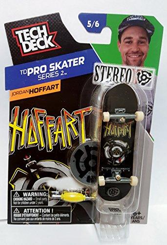 Tech Deck Skateboard TD Pro Skater Series 2 Jordan Hoffart Stereo 56 Finger Board