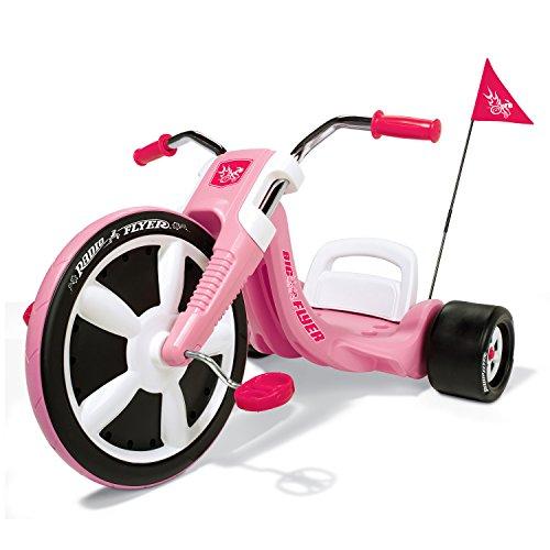 Radio Flyer Girls Big Flyer Kids Tricycle