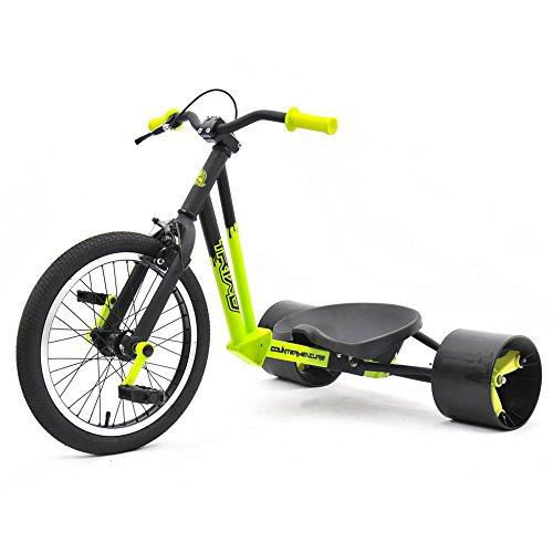 Triad Counter Measure Kids Drift Trike - YellowBlack