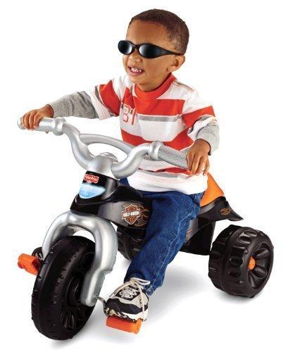 Fisher-Price Harley-Davidson Motorcycles Tough Trike Children  Kids Toy  Game