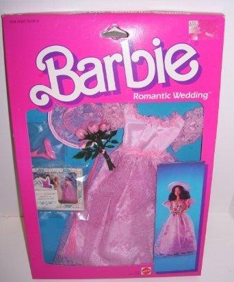 1986 Barbie Doll Pink Romantic Wedding Fashion Set 3105