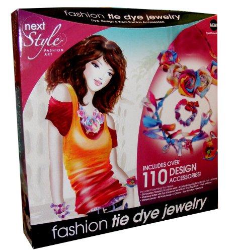 next Style Fashion Art Tie Dye Jewelry Kit